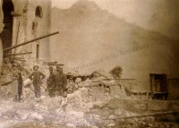 Chiesa di Vallarsa. Estate 1916